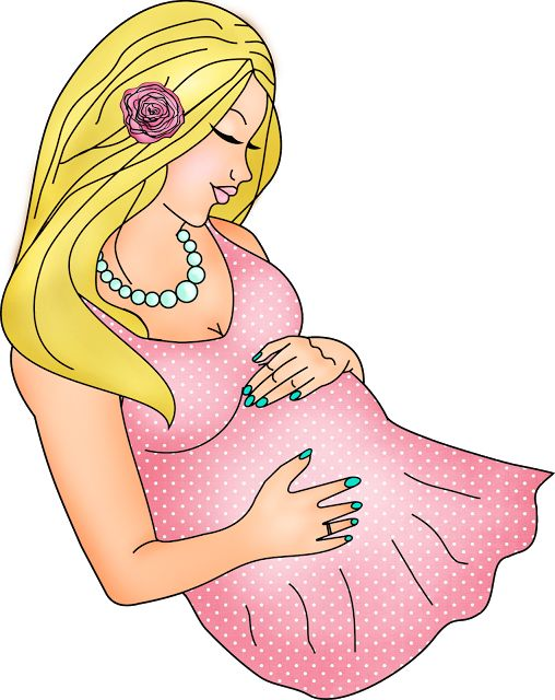 Digi stemple by AliceCreations: Ciąża