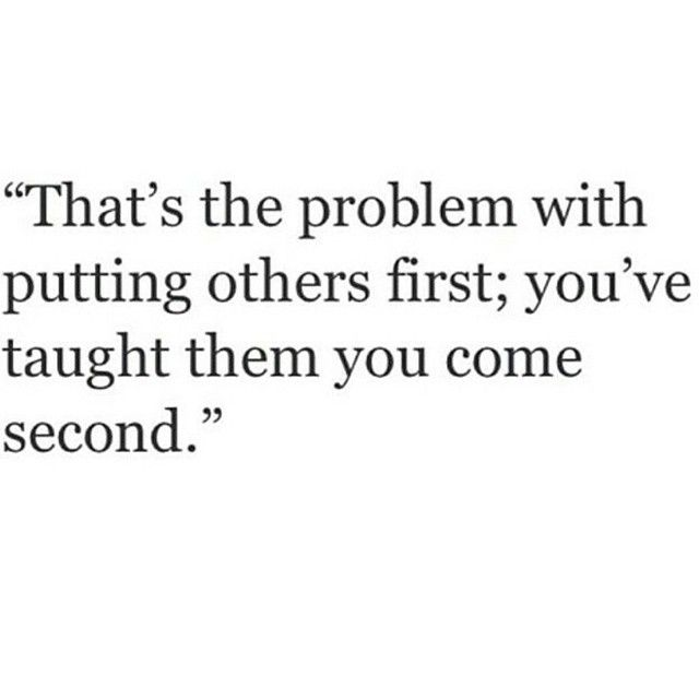 Not anymore. I matter and don't deserve to be second best.