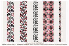 Semne Cusute: Romanian traditional motifs - MOLDOVA - Bacau, Calugara