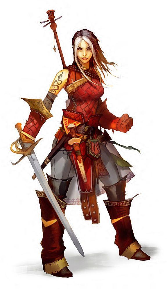 bard woman