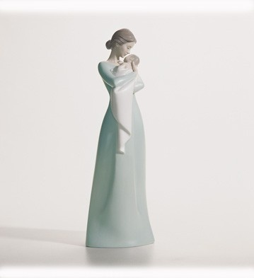 A MOTHER'S EMBRACE: Mothers Embrace, Gift, Embrace Figurines, Lladro Figurines, Embrace Chroniclebook, Lladro Figures, Lladro Collection, Embrace Push, Dearmom Lladró
