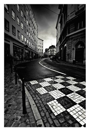 belgium, black and white, brussels, checkered, chess, city