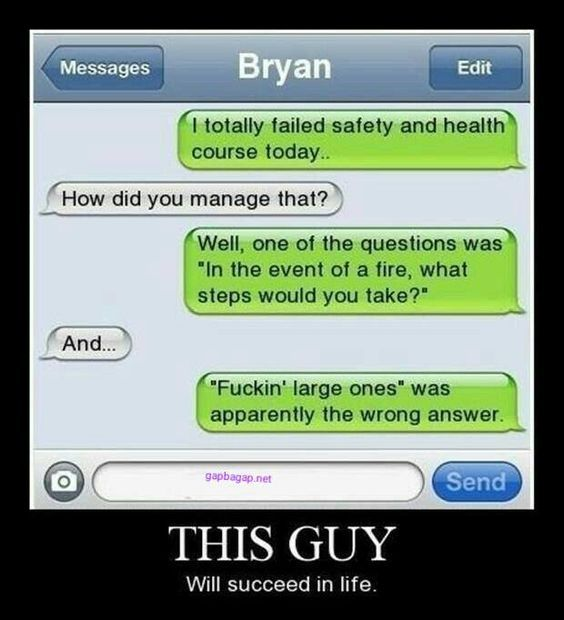 Funny Text Of The Day