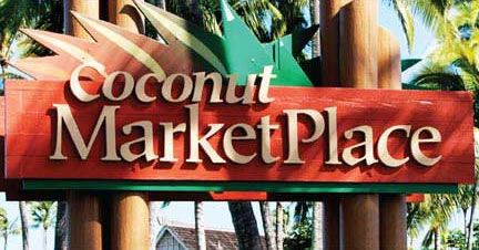 Coconut Marketplace- Farmer's market t/th 9-12   4-484 Kuhio Hwy in Kapaa Kauai, Hawaii 96746