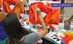 Groupon - Two-Hour BYOB Painting Workshop for One at Painting Lounge (30% Off)  in Multiple Locations. Groupon deal price: $35