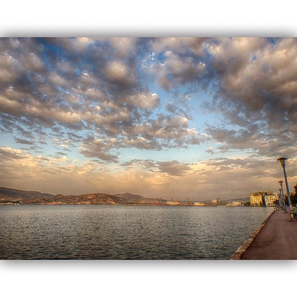 Clouds over Volos
