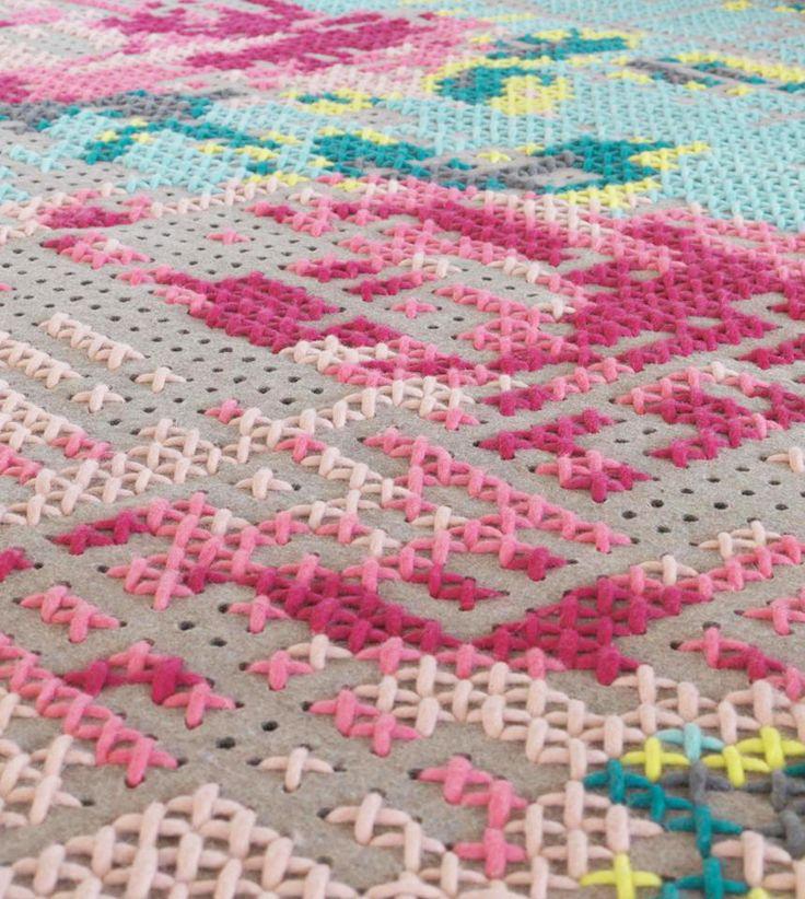 Magie met naald en draad: borduren anno 2015 #borduren #embroidery