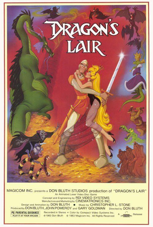 Dragon's Lair 27x40 Movie Poster (1983)