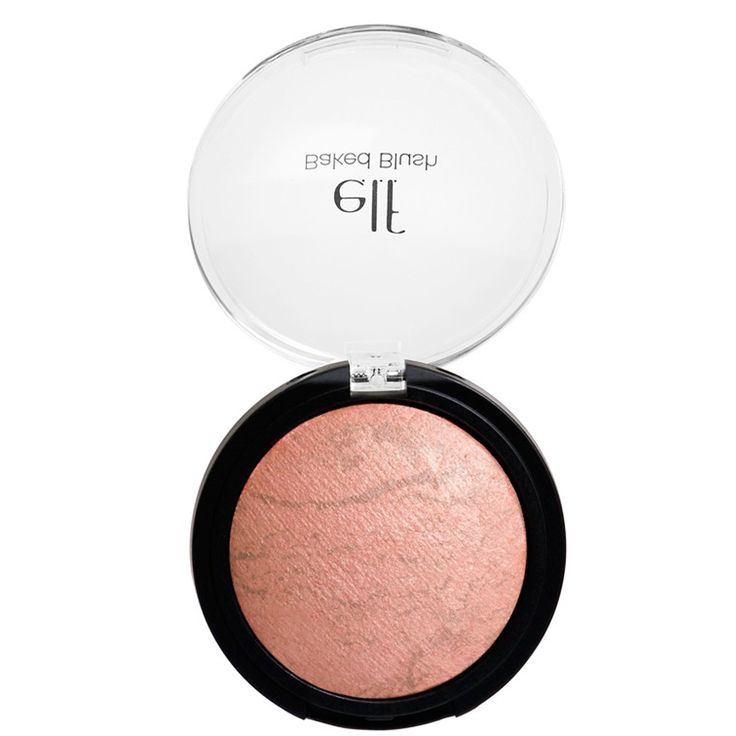 E.L.F. Cosmetics, Baked Blush, Peachy Cheeky, 0.21 oz (6 g)