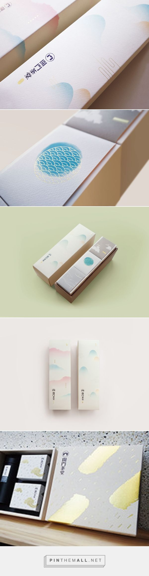 KaiMon | Taiwan Tea House Spring Gift Box|開門茶堂春茶禮盒 on Behance... - a grouped images picture - Pin Them All