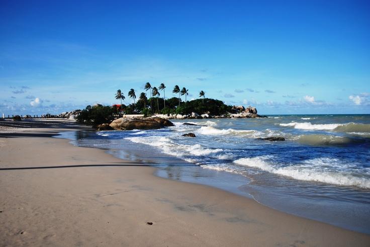 Beautiful Beach in BANGKA Island , INDONESIA