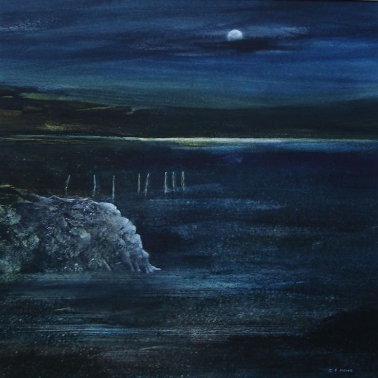 Calm Waters   -   CLIFF HOWE - Artist