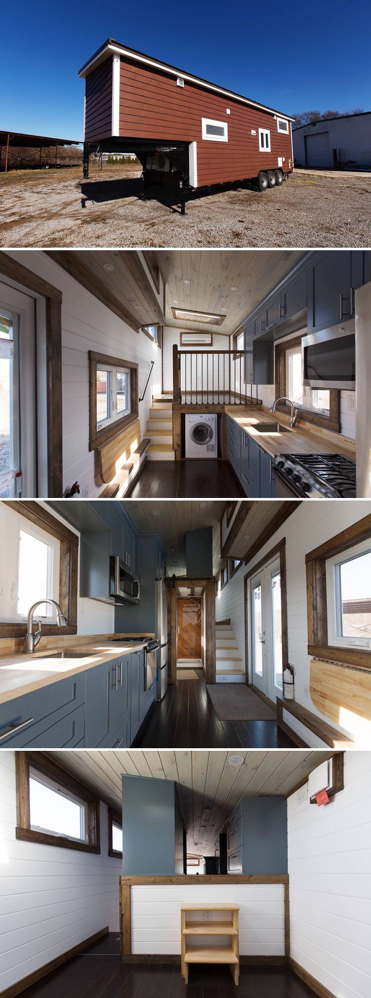 """The Lookout v2 was built by Tiny House Chattanooga. It's based off their award-winning Lookout that won """"Best in Show"""" at the 2016 Tiny House Jamboree."""