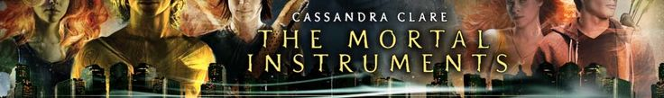 The Mortal Instruments series   Great books. The way Cassandra Clare writes her stories you feel like you actually know the characters. One of my favorite series I've read so far because it has everything I want in a book.