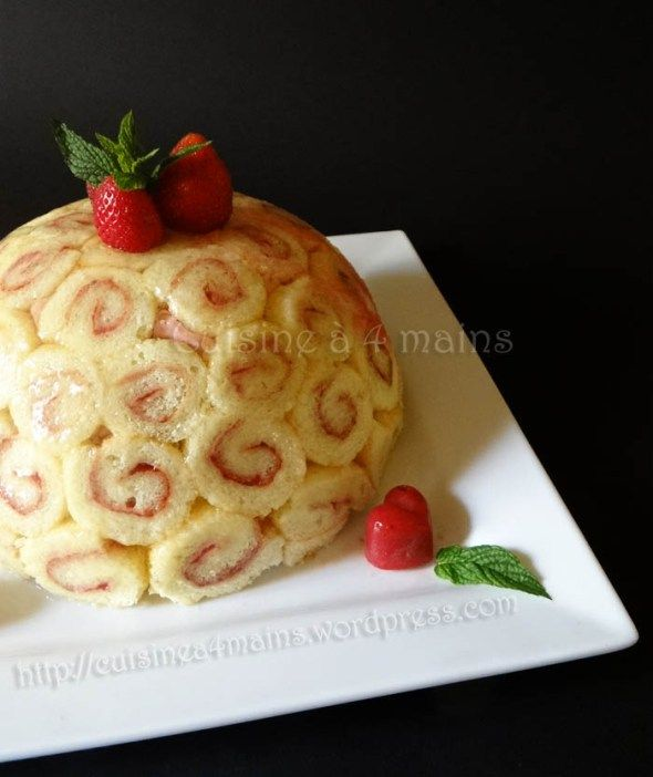 1000 images about desserts aux fraises on pinterest - Jeux de charlotte aux fraises cuisine gateaux ...