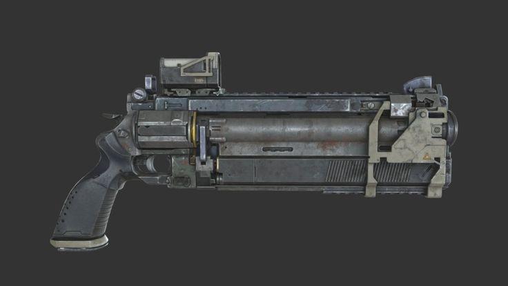 Sci - Fi Revolver by kamil.wojciekiewicz
