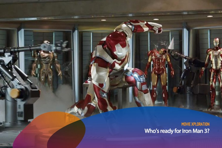 We can't wait for the next Iron Man movie, Iron Man 3! How about you?