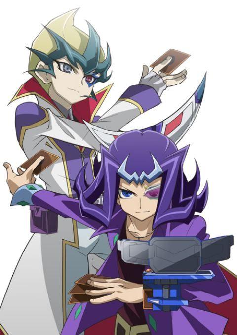 Shark and Kite Yu-Gi-Oh! ZEXAL