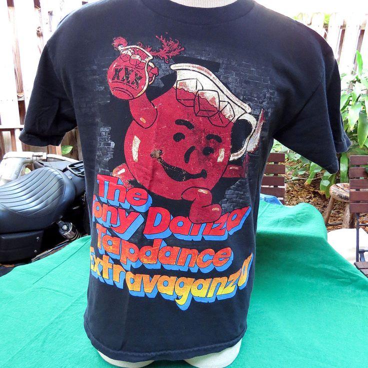 The Tony Danza Tapdance Extravaganza XXX Metal Band Shirt Koolaid Sz M Mathcore #Handmade #GraphicTee