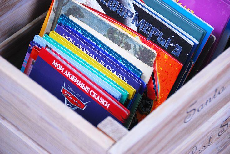 Организация детской комнаты: Как я храню детские книги