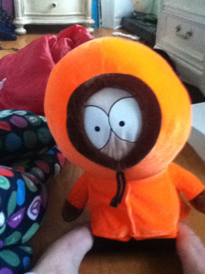 Hey it's Kenny from south park