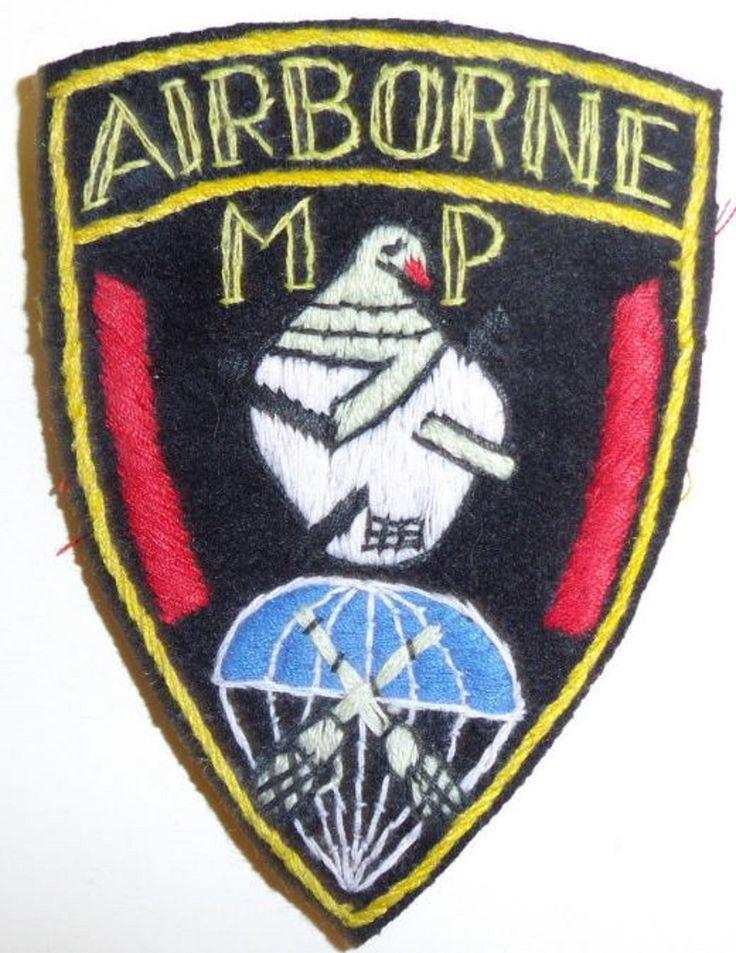 11th Airborne Division MP Military Police PIR Parachute