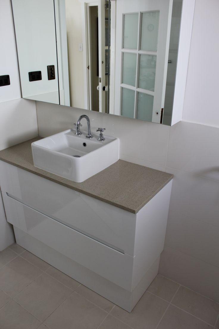 Bathroom Renovation Victoria Park   Bathware Direct 1200mm Onxy Range   Perth Bathrooms  On the Ball bathrooms