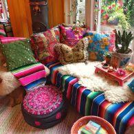 38 Awesome Bohemian Porch Decor Ideas07