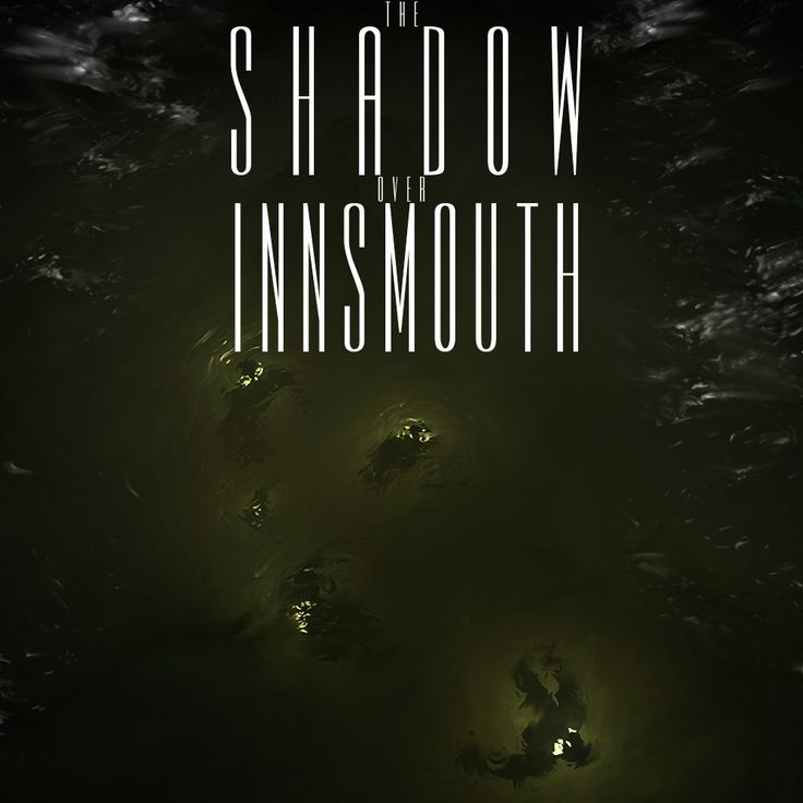 The Shadow Over Innsmouth book cover project, Anthony Rubier on ArtStation at https://www.artstation.com/artwork/a3e8R
