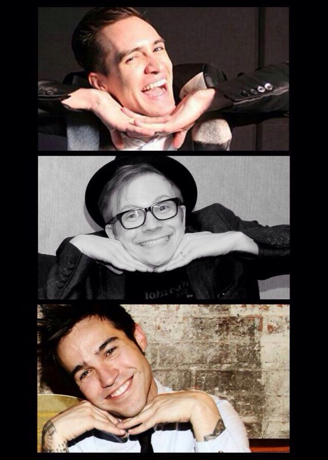 I hate Brendon,he can't do it.But,Patrick Stump and Pete Wentz really know how to showe their inner angel!