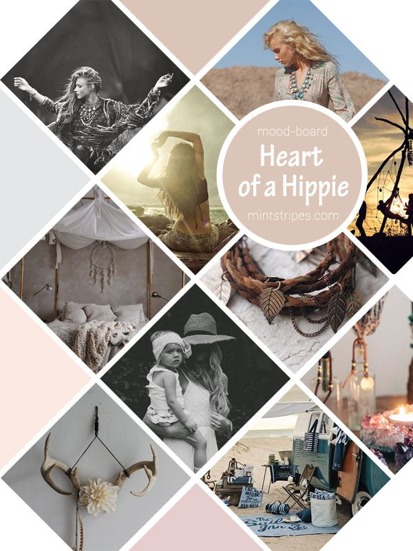 mood-board-Heart-of-a-Hippie