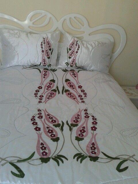 İşleme  yatak örtüm