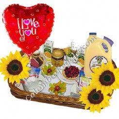 Desayunos sorpresa, Breakfast gift basket