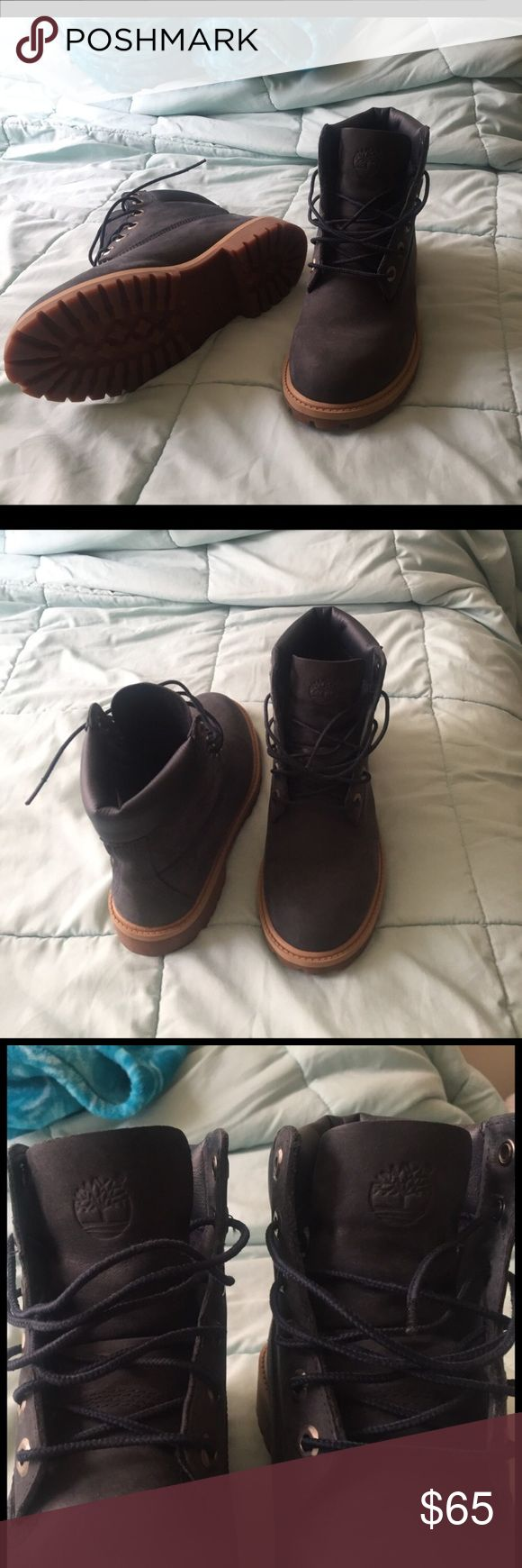 Navy Blue Timberland Boots Timberland Boots , Navy Blue , Thick Sole , Blue Shoestrings Timberland Shoes Winter & Rain Boots