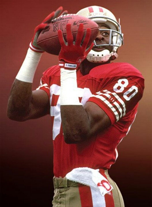 JERRY RICE. Best WR ever.