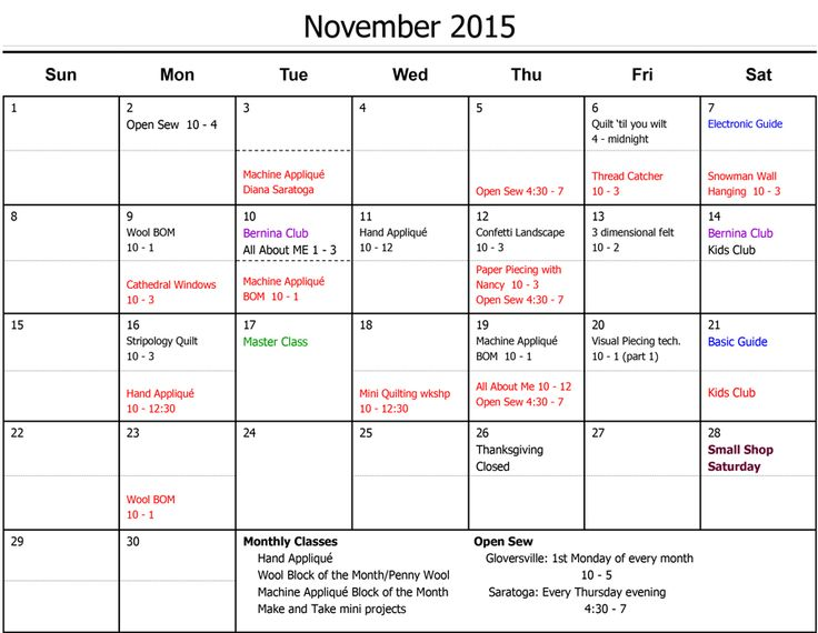 10 best Classes images on Pinterest Calendar, Janome and Life planner - calendar class