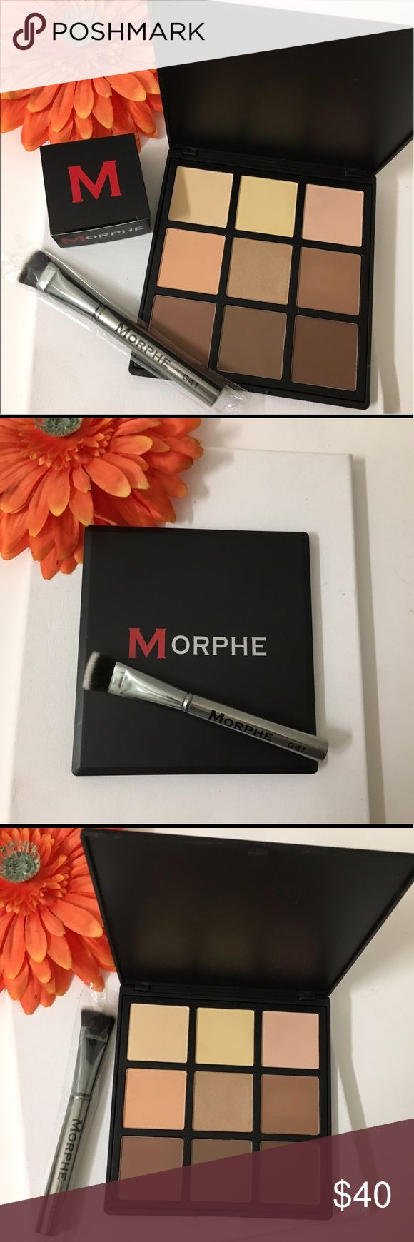 💯🎉Morphe x2 9c contour & morphe  contour brush Authentic as always ! Brand new in box . Receive morphe white contour / foundation / concealer brush in white ! From a limited set ! Bundle and save. Brush you receive is brush in last pic ! 👍🏼 morphe Makeup
