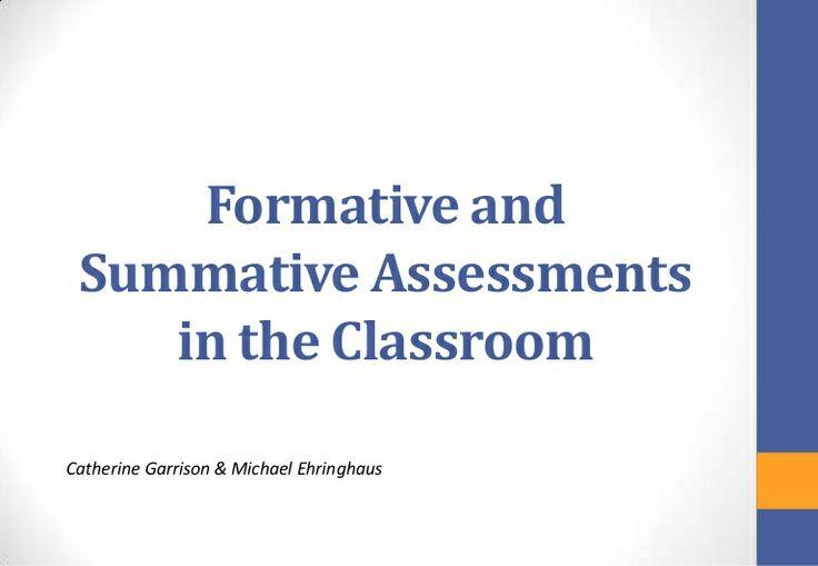 Die besten 25+ Formative und summative bewertung Ideen auf - what is a summative assessment