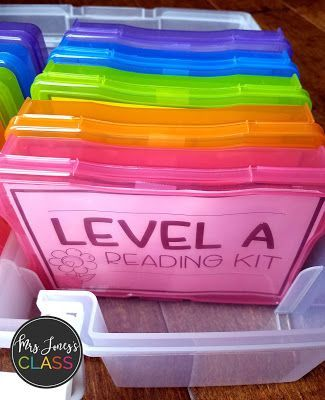 Guided Reading Kits! Levels A-E. These are a perfect add-on to your guided reading lessons.