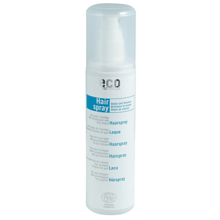 Spray fixativ bio cu rodie si goji, 150ml, Eco Cosmetics  - Sabedoria