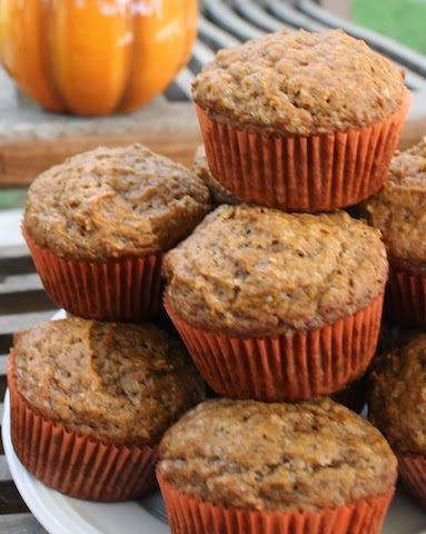 Pumpkin Pie Muffins for #MuffinMonday