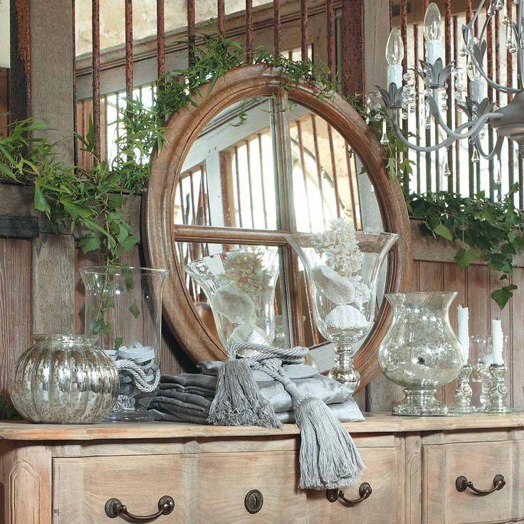 Specchio atelier maison du monde 99e fish bar pinterest atelier and mirror - Specchio shabby maison du monde ...