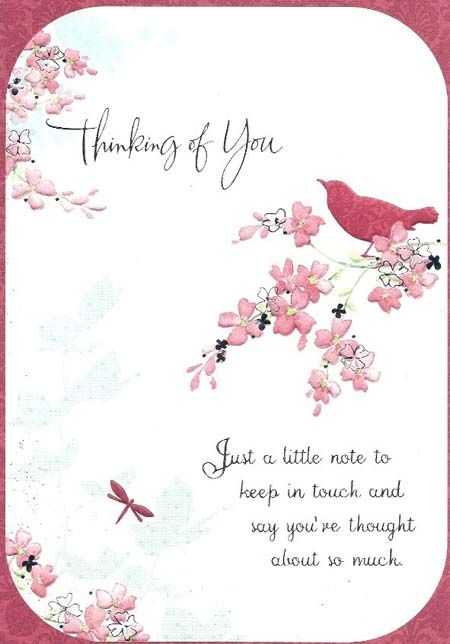 Thinking Of You Quotes: IMAGES OF Thinking Of You Cards
