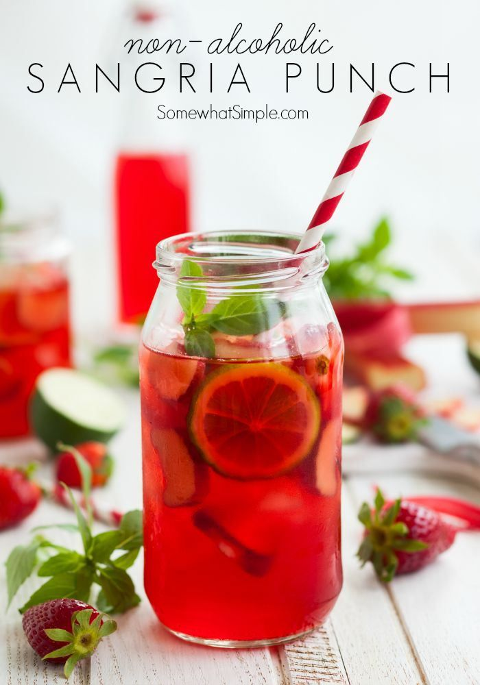 Best 25 non alcoholic sangria ideas on pinterest quick for Cocktail drinks without alcohol