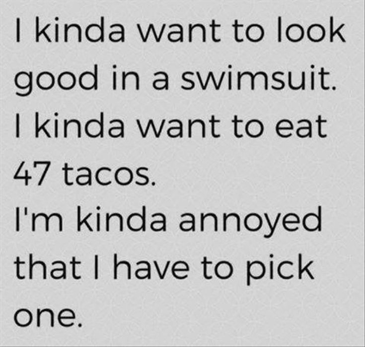 No brainer for me. I'm a taco girl. Funny Pictures Of The Day - 35 Pics