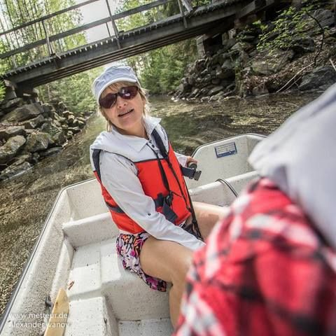 Иногда я думаю - Без спасательного жилета в лодке в Финляндии штраф!