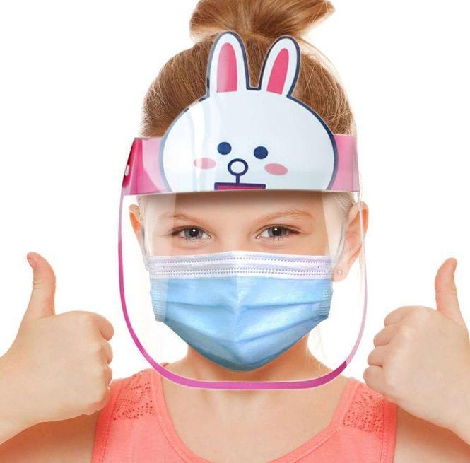 Kids Safety Face Shield Outdoor Dust-proof Visor Children School Kindergarten