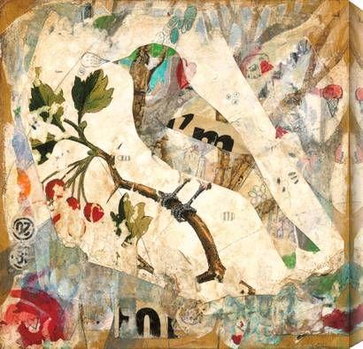 awesomeIn Love, Birds Art, Collage Art, Art Inspiration, Art Journals, Living Room, Mixed Media, Birds Collage, Judy Paul