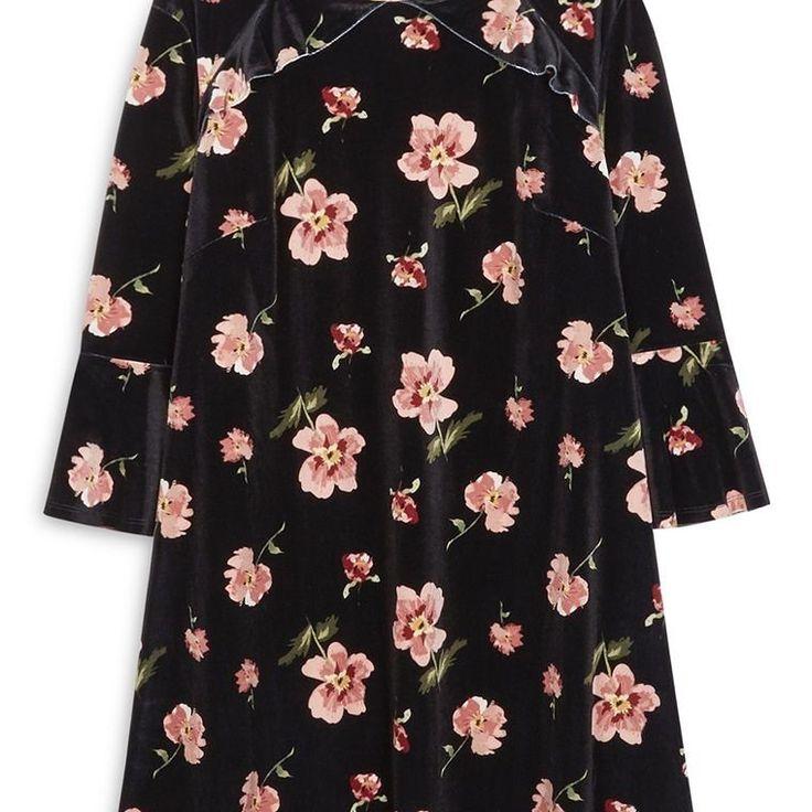 Vestido floral de terciopelo negro  Categoría:#primark_mujer #ropa_de_mujer #vestidos en #PRIMARK #PRIMANIA #primarkespaña  Más detalles en: http://ift.tt/2hKS20O