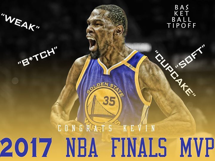Through all the hate you proved everyone wrong congrats Kevin Durant - Father Flash